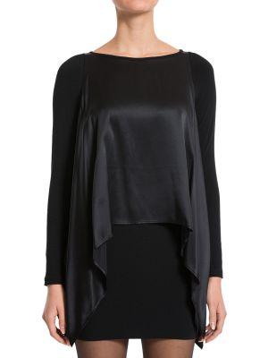Шерстяное платье - черное Plein Sud
