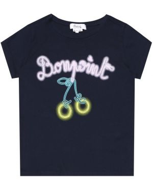 Синяя футболка Bonpoint