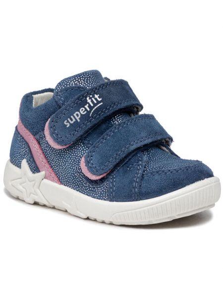 Niebieskie sneakersy Superfit