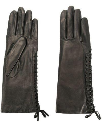 Перчатки черные Agnelle