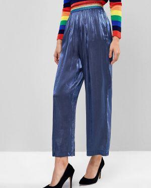 Свободные брюки палаццо в полоску Zaful