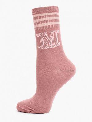 Розовые носки осенние Max Mara Leisure