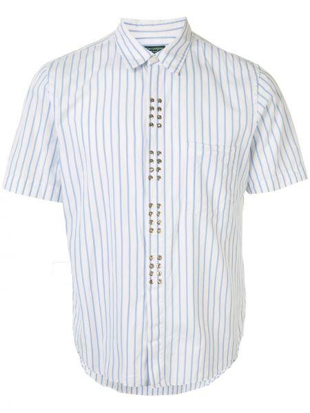 Koszula krótkie z krótkim rękawem w paski z paskami Comme Des Garçons Pre-owned