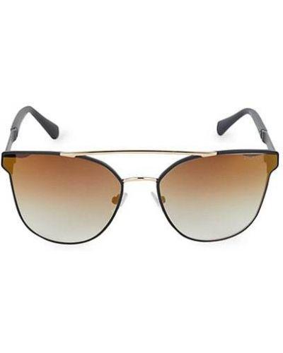 Черные солнцезащитные очки металлические Balmain