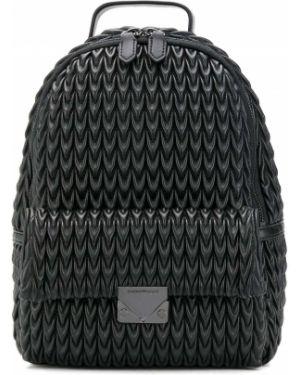 Кожаная сумка сумка-рюкзак с ручками Emporio Armani