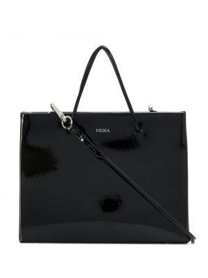 Skórzana torebka na zakupy na ramię Medea