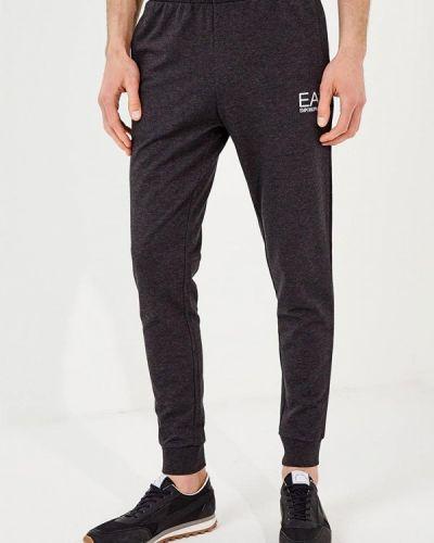 Серые спортивные брюки Ea7