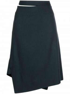 Зеленая юбка из вискозы Vivienne Westwood
