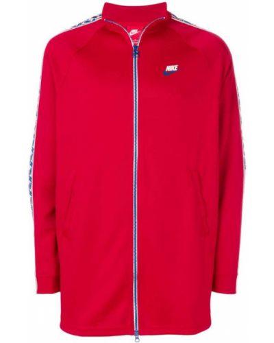 Длинная куртка спортивная на молнии Nike