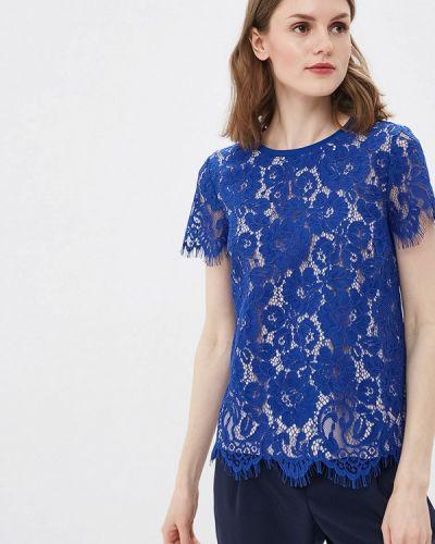 Блузка кружевная синяя Vittoria Vicci