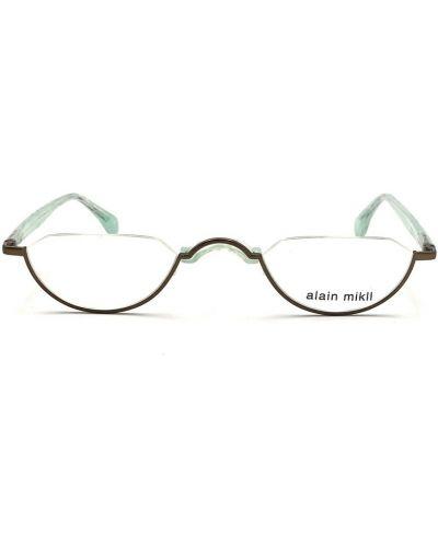 Zielone okulary Alain Mikli