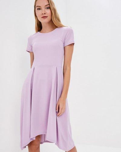 Платье розовое весеннее Lautus
