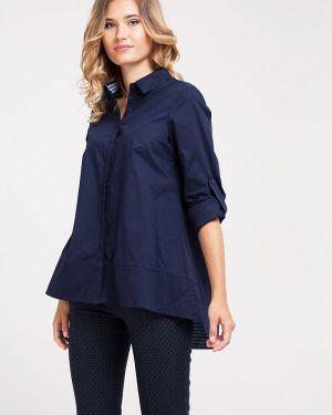 Блузка синяя Dlys