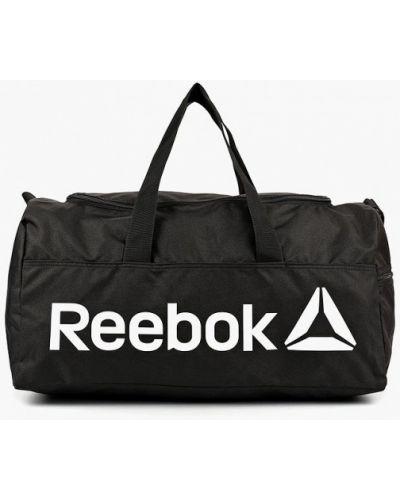 Черная спортивная сумка Reebok