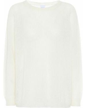 Белый свитер из мохера Max Mara