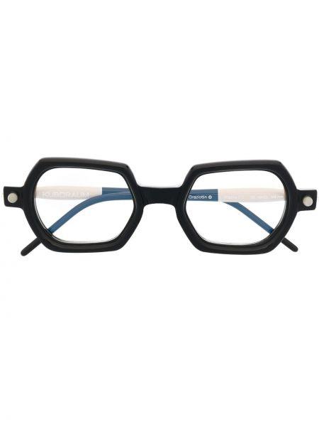 Оправа для очков прозрачные - черные Kuboraum