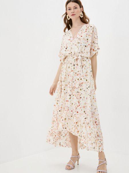 Платье розовое прямое Sweewe