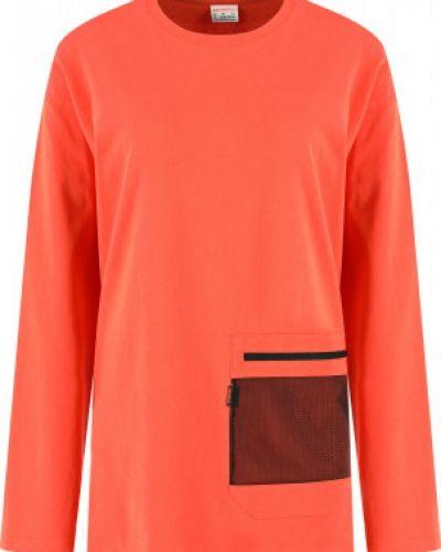 Оранжевая хлопковая футболка Merrell
