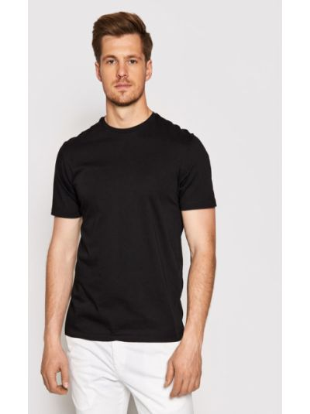 Czarna t-shirt Baldessarini