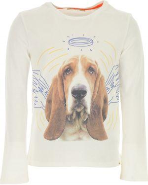 T-shirt z długimi rękawami bawełniany z printem Billybandit
