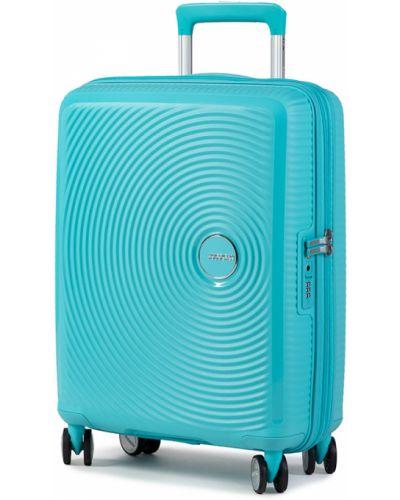 Walizka - niebieska American Tourister