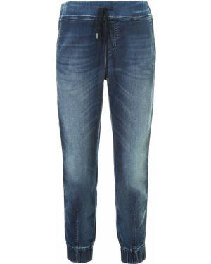 Свободные брюки с поясом с манжетами Jacob Cohen