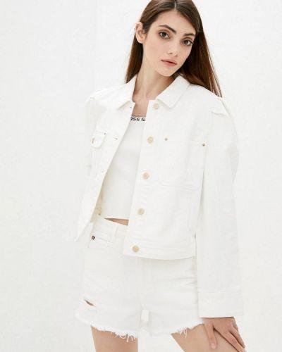 Белая джинсовая куртка Miss Sixty