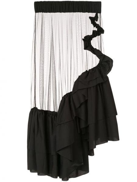 Spódnica asymetryczny na gumce Roberts Wood