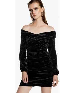 Вечернее платье осеннее черное Ivyrevel