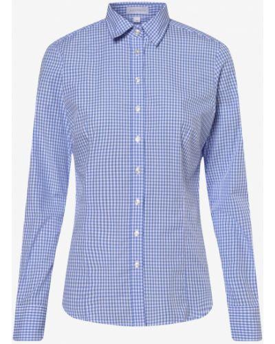 Niebieska klasyczna bluzka Brookshire