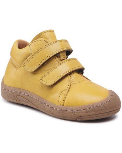 Żółte półbuty Froddo