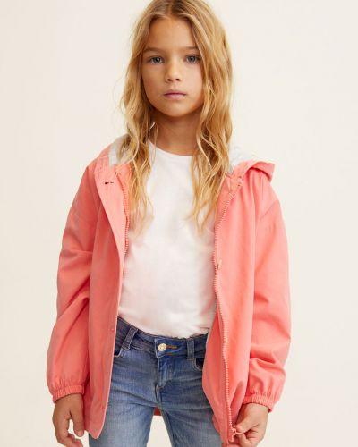 Куртка хлопковая прямая Mango Kids