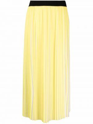 Lniana długa spódnica - biała Karl Lagerfeld