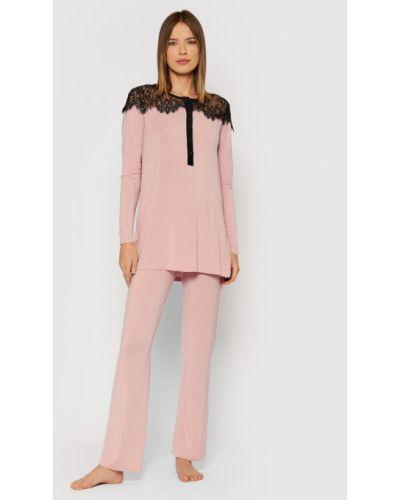 Piżama - różowa Twinset