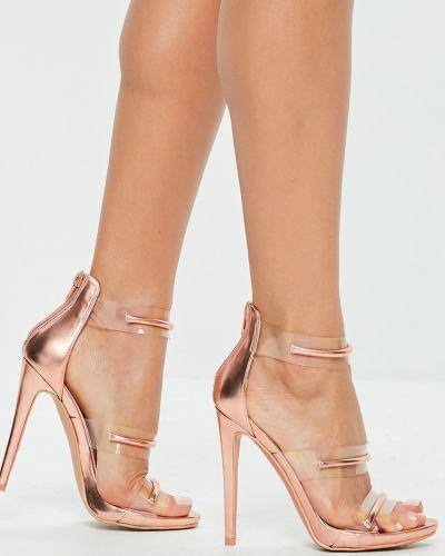 Туфли на каблуке на шпильке на высоком каблуке Missguided