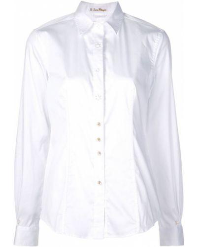 Классическая блузка с длинным рукавом на пуговицах Le Sarte Pettegole