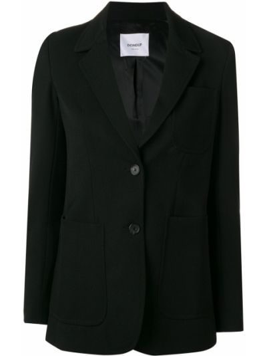 Приталенный пиджак с карманами из вискозы на пуговицах Dondup
