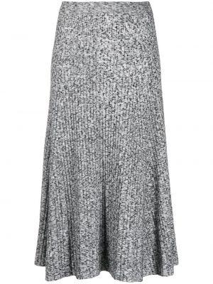 Трикотажная черная юбка с поясом Mrz