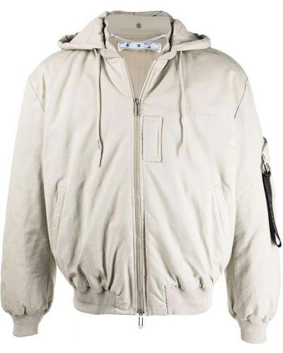 Kurtka oversize - biała Off-white