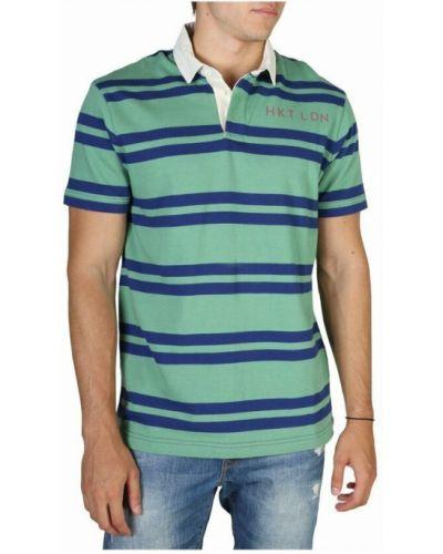 Zielona t-shirt Hackett