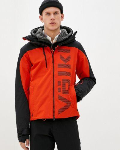 Красная куртка горнолыжная VÖlkl