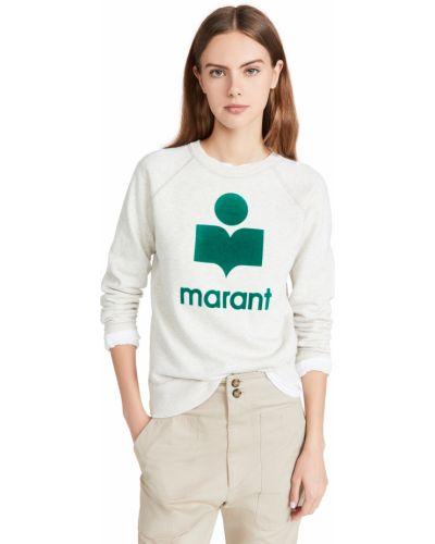Bluza dresowa - zielona Isabel Marant Etoile