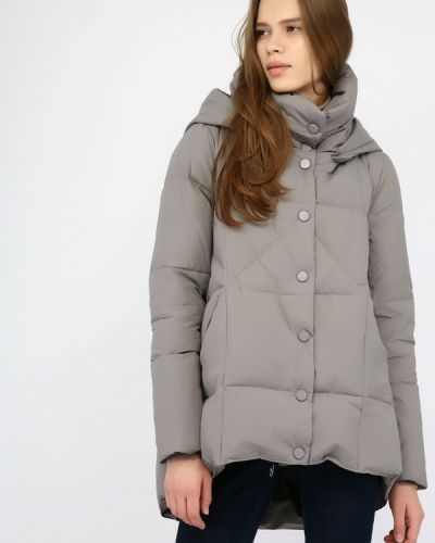 Зимняя куртка осенняя серая Monton