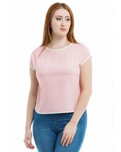 Блузка розовая осенняя Xlady