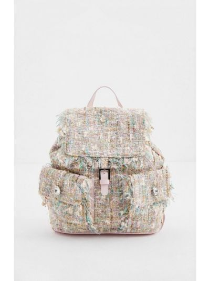 Бежевый итальянский рюкзак Blumarine