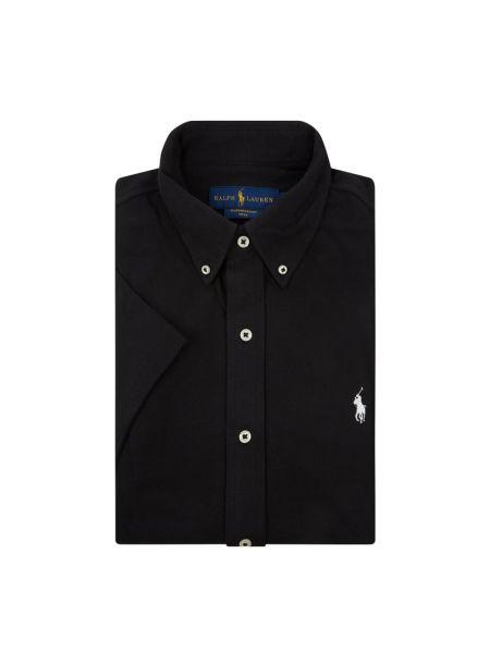Koszula krótkie z krótkim rękawem z logo z haftem Polo Ralph Lauren