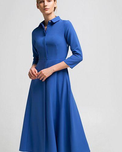 Голубое платье весеннее Grass