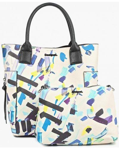 Кожаный сумка с ручками Desigual