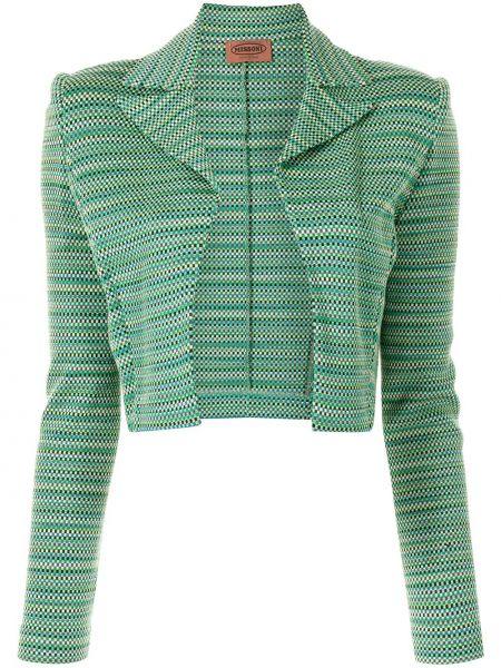 Зеленая укороченная куртка Missoni Pre-owned