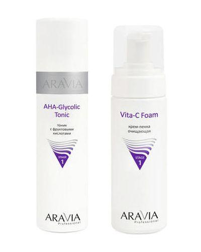 Тоник для лица для лица в клетку Aravia Professional